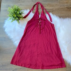 NWT Urban Outfitters Ecote halter corset dress